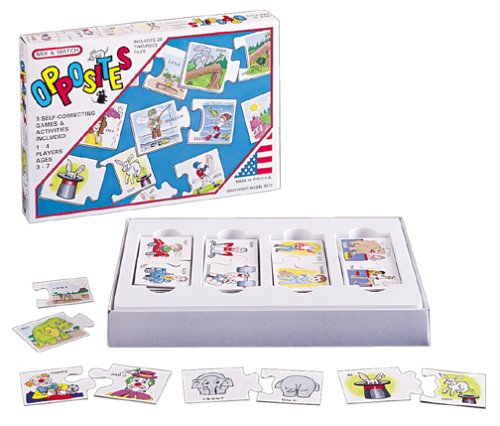 Smethport Mix & Match Games- Opposites Game