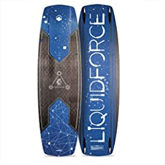 The 2018 Liquid Force Carbon Drive kiteboard is LF's all terrain performance board sporting the same architecture as its standard construction brother but with significant weight reduction and livelier feel and pop. The Carbon Drive ha...