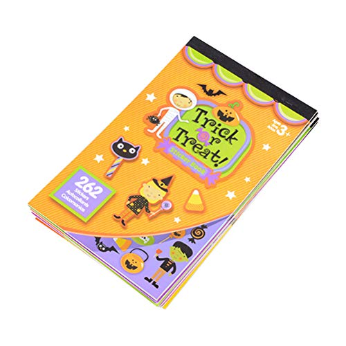 2pcs Halloween Theme Sticker Books for Kids Halloween Gift Party Favors