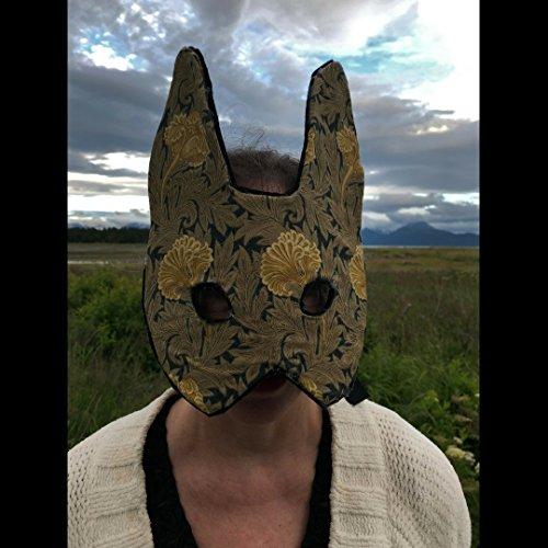 Bunny Rabbit Mask, animal mask, costume party mask. Art Nouveau Rabbit. - Art Nouveau Costume