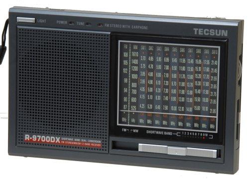 Tecsun R9700DX 12-Band Dual Conversion AM/FM Shortwave Radio (Best Small Shortwave Radio)