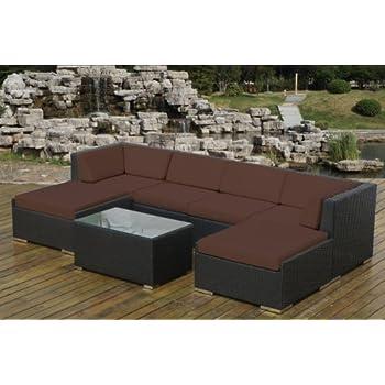 Amazon  Genuine Ohana Outdoor Patio Wicker Furniture pc Sofa