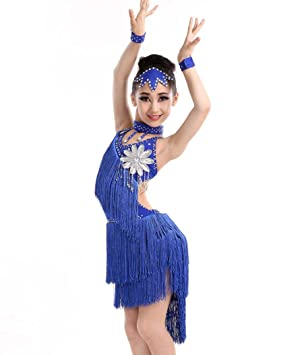 YZLL Disfraz De Baile Latino para NiñOs, Vestido De Baile ...