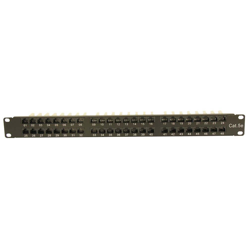 InstallerParts Cat 5E 1U 48Port Patch Panle UTP by InstallerParts