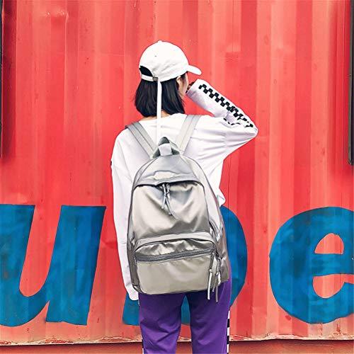 Vhvcx Di Versatile Versione Nylon Grande Signore Zaino Coreana Student In Moda Vento Collegio Trend Della B Capacità q8rqxfHgw