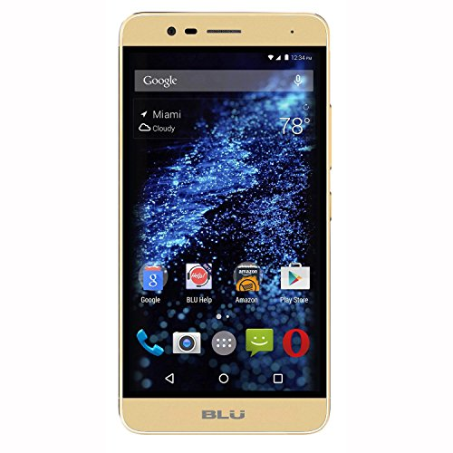 BLU Studio One Plus 4G LTE with 16GB Memory Cell Phone (Unlocked) Gold S0130UU GOLD