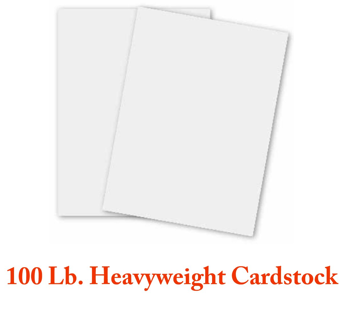 Flesh colored cardstock - White Card Stock Heavyweight 8 5 X 11 100lb Cover 270gsm 50 Sheets