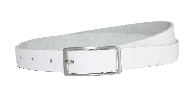 Vascavi Ledergürtel 100% echt Leder, 2 cm breit und ca. 0.25 cm stark, Gürtel, Hüftgürtel, Jeansgürtel, Made in Germany