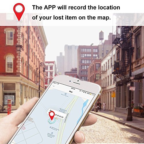 key Finder,Phone Finder,YANX Pack of 2 Smart Bluetooth Anti lost Tracker Wallet Key Phone Tracker Alarm for iOS/ iPhone