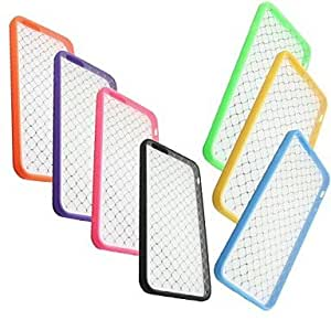 LCJ Grid Resistant Scratch PC Back Cover for iPhone 6 (Assorted Color) , Yellow