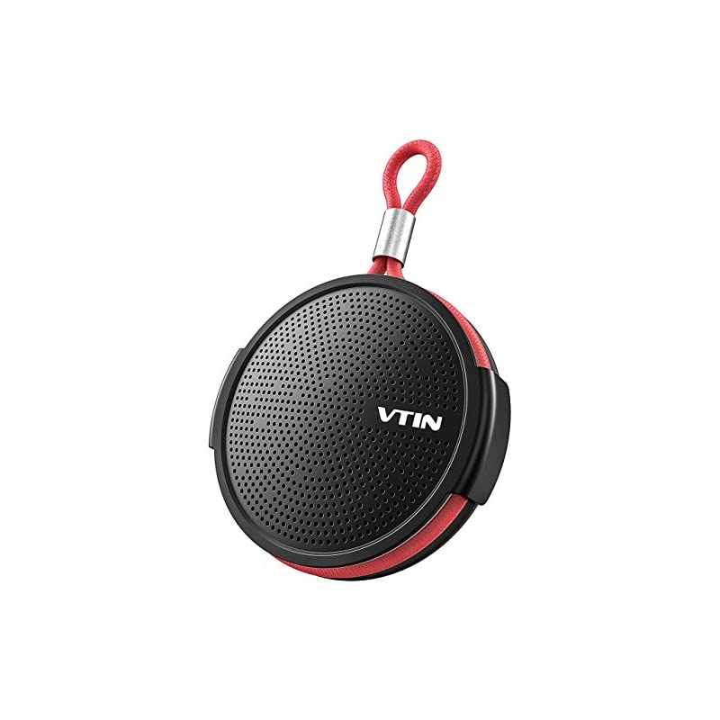 Vtin Hotbeat Otter Portable Bluetooth Shower Speaker IPX5 Waterproof, Bluetooth 4.2, Suction Cup, Support TF Card, HD Sound Home, Pool, Beach,Travel.
