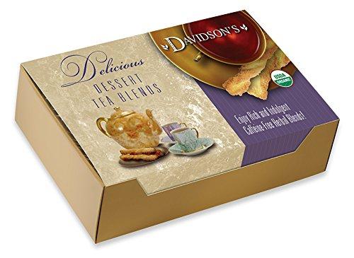 Davidson's Tea Single Serve Caramel Peach with Coconut, 100-Count Tea ()