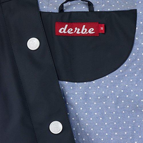 Navy Derbe Blouson Dots Femme blue FTFvxqzwY