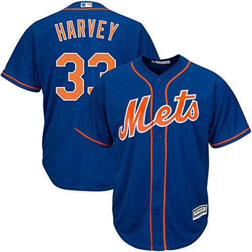 0ebb68631 80%OFF Matt Harvey New York Mets  33 MLB Men s Big and Tall Cool ...