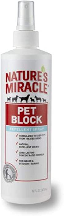 Nature's Miracle Pet Block Repellent Spray to Discourage Scratching