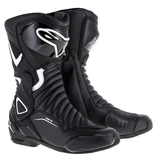 (Alpinestars Women's Stella SMX-6 v2 Black/White Boots, Euro 37)