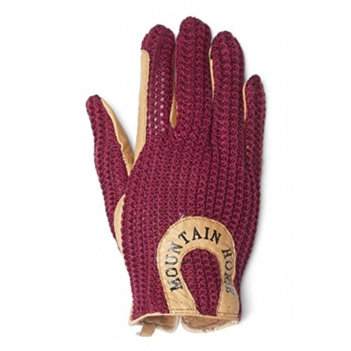 Mountain Adult Gloves Horse Red Crochet Royal q4U7UYwn0v
