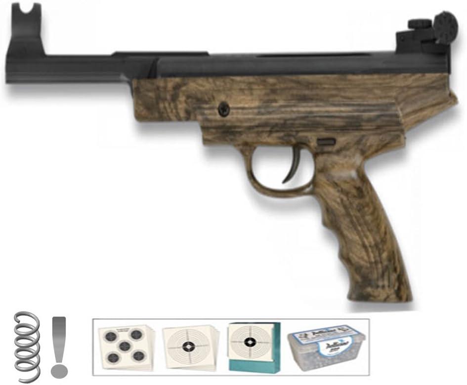 PACK pistola de aire comprimido (muelle) HATSAN 25MW <3,5J