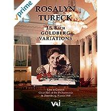 Rosalyn Tureck, J.S. Bach, Goldberg Variations
