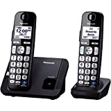 Panasonic KX-TGE212B dect_6.0 2-Handset Landline Telephone (Discontinued By Manufacturer)