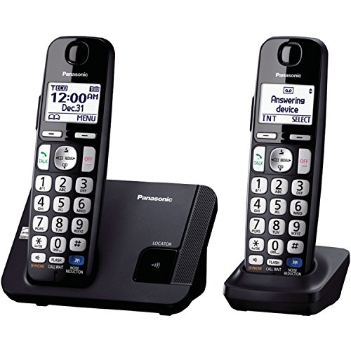 Panasonic KX-TGE212B dect_6.0 2-Handset Landline Telephone (Discontinued By Manufacturer) from Panasonic