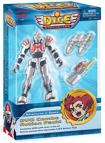 DICE - Adventures in Space (Vol. 1) + Toy