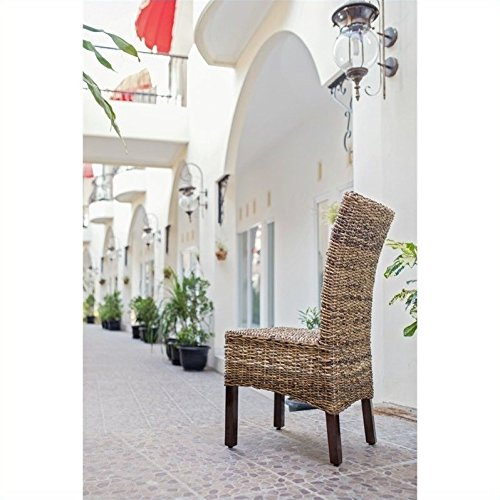 International Caravan SG-3300-1CH-IC Furniture Piece Arizona Abaca Dining Chair