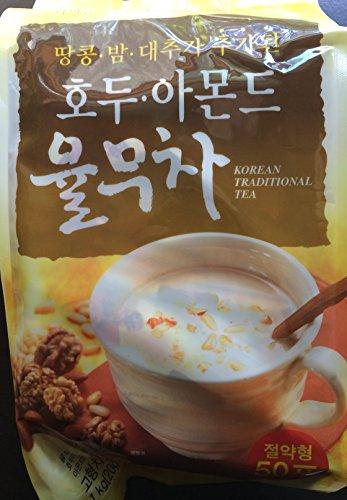 Korean Traditional Tea (Walnut, Almond & Adlay Tea) - 20g X 50 Sticks