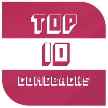 Amazon com: Top Ten ComeBacks 2019: Appstore for Android