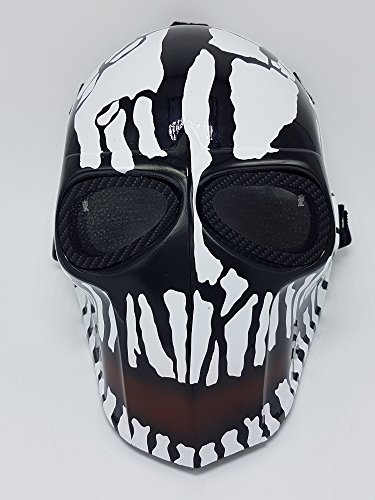 Character Creations Costumes (Airsoft Army of Two Paintball Mask Crank Protective Gear Outdoor Sport Fancy Party Ghost Masks Bb Gun)