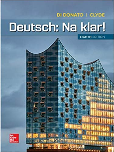 Amazon Com Deutsch Na Klar 9781260016055 Di Donato Robert Clyde Monica Books