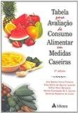 capa de Tabela Para Avaliação de Consumo Alimentar em Medidas Caseiras
