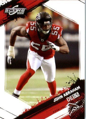 John Abraham - Atlanta Falcons - 2009 Score Football Card #14 - NFL Trading Card (2009 Nfl Trading Cards)