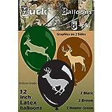 Buck Balloons (Deer Balloons, Large 12