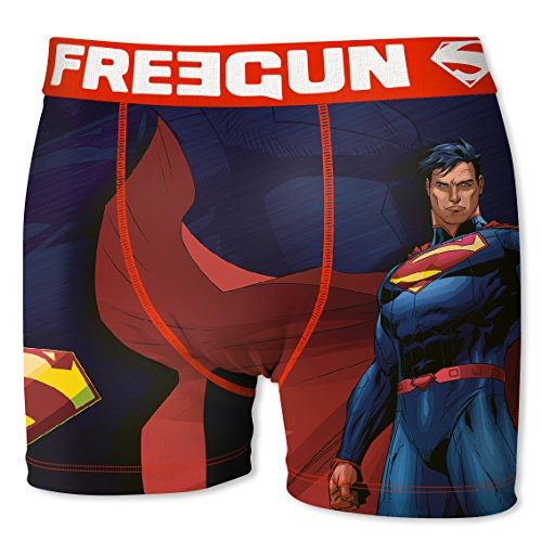 Freegun Comics Solo Para League Superman Dc Bóxer Hombre Justice rwSWfFrqT
