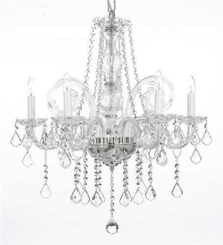 Crystal Chandelier Chandeliers Lighting H25 x W24