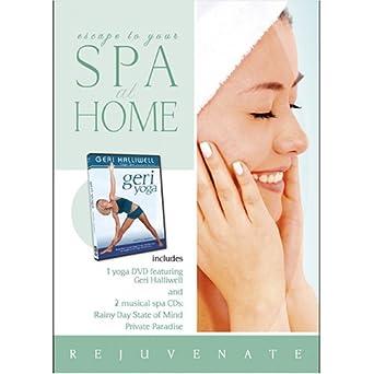 Amazon.com: Spa at Home: Geri Yoga with 2 CDs: Rainy Day ...