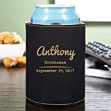 HomeWetBar The Big Day Custom Can Cooler (Customizable Product)