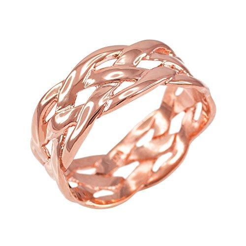 10k Gold Celtic Rings - 9
