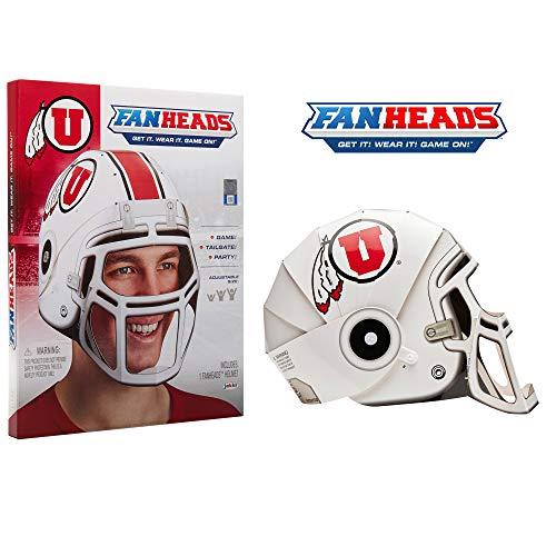 Fan Heads - Utah Utes Helmet