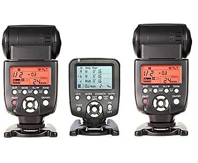 Yongnuo YN560-TX LCD Wireless Manual Flash Controller + 2pcs YN-560 III Manual Flash Speedlite Light For for Nikon D7200 D7100 D7000 D5100 D90 D5200 D5000 D3000 D3200 D3100 D610 D800 D700 D300 D300S from Yongnuo