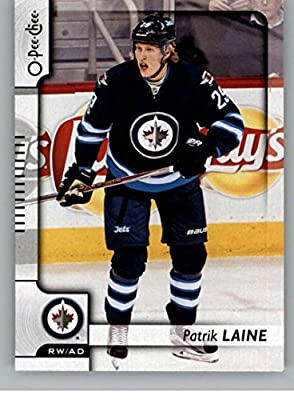 2017-18 O-Pee-Chee #15 Patrik Laine Winnipeg Jets Hockey Card