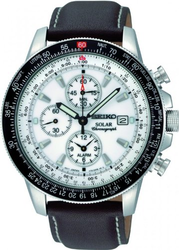 Seiko-Mens-SSC013-White-Dial-Watch