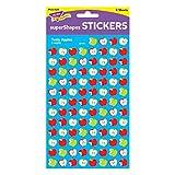 Trend Enterprises Tasty Apples Super Shapes Stickers (800 Piece)