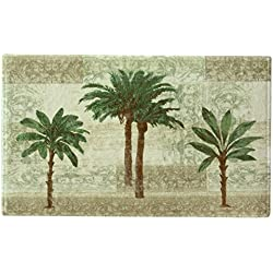 "Bacova Guild Citrus Palm Bath Rug, 20"" x 33"""
