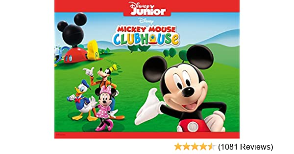 Amazon com: Watch Mickey Mouse Clubhouse Volume 1   Prime Video