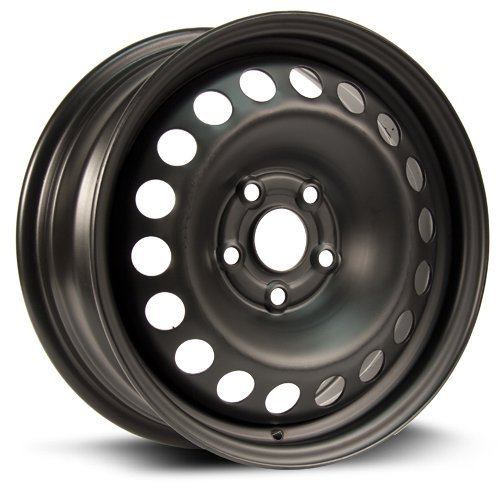 RTX, Steel Rim, New Aftermarket Wheel, 15X6.5, 5X105, 56.6, 39, black finish X45656 ()