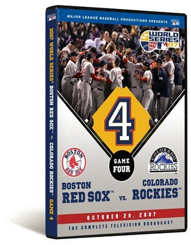 - 2007 World Series Game 4 - Boston Red Sox 4, Colorado Rockies 3