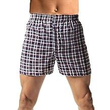 Hanes Men's TAGLESS Woven Boxers w/Comfort Flex Waistband 3X-5X 3-Pack