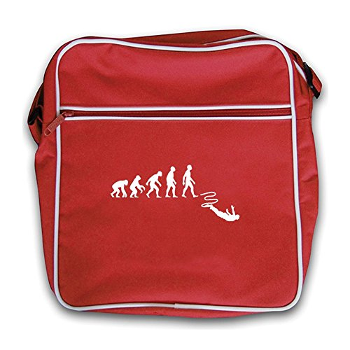 Evolution Bungee Flight Man Bag Of Retro Red Jump Black ErqrwC